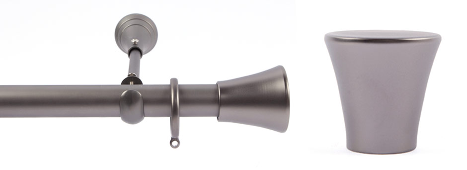 Product Shot - Apollo 291521 Copernicus Finial Gun Metal 2