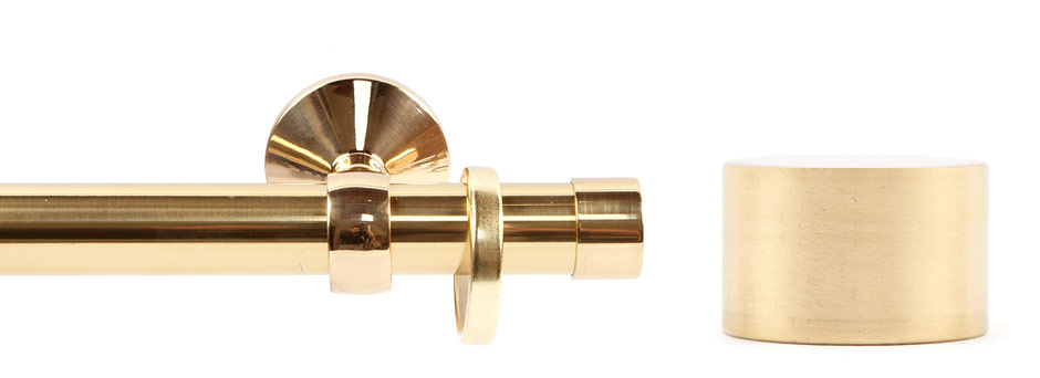 Opera 281001 Endcap Polished Brass